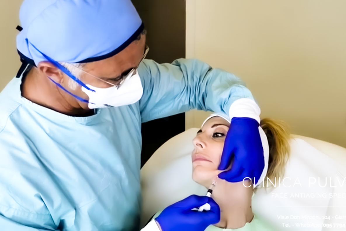 Dottor Antonio Pulvirenti, Medico estetico, Giarre, Catania. Trattamenti di ringiovanimento viso a Giarre, provincia di Catania