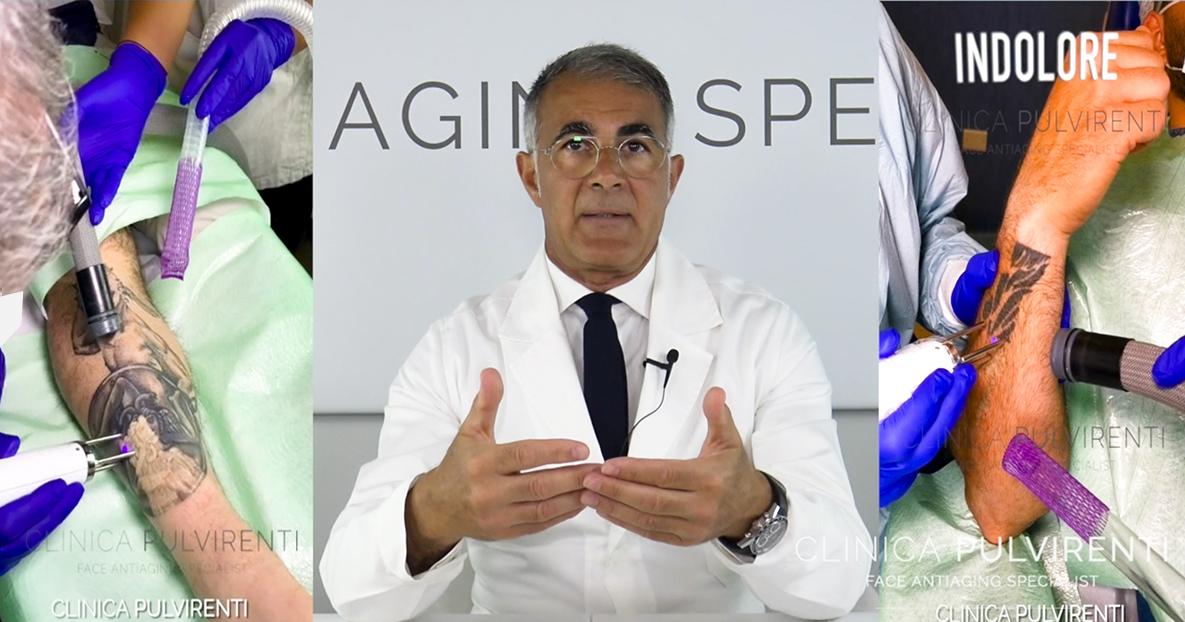 Dottor Antonio Pulvirenti, esperto nella rimozione dei tatuaggi con Laser a Catania